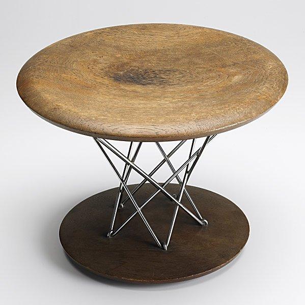 721: ISAMU NOGUCHI; KNOLL Rocking stool