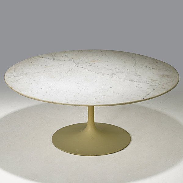 723: EERO SAARINEN; KNOLL Tulip cocktail table