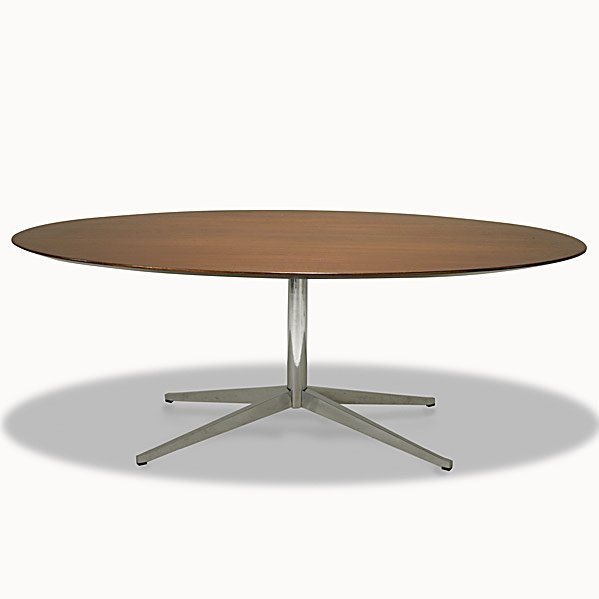 726: FLORENCE KNOLL; KNOLL Oval-top table