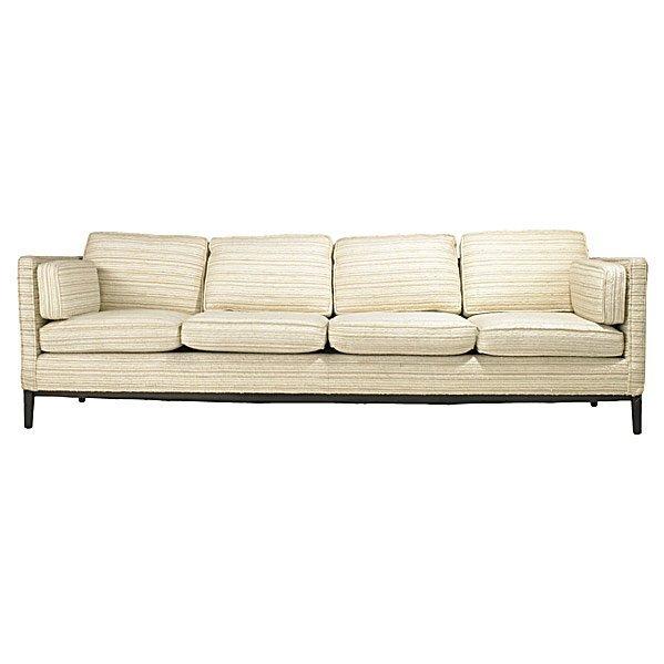 736: EDWARD WORMLEY; DUNBAR Four-seat sofa