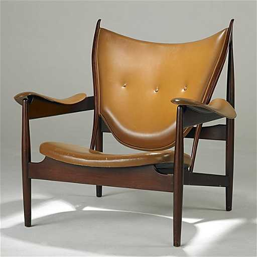 1048 finn juhl niels roth andersen chieftain chair
