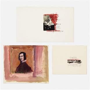 George Deem, three works