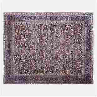 Persian, Kerman low pile carpet
