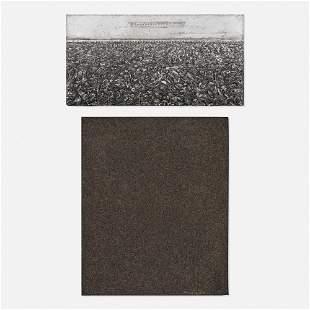 Edward Renouf, Untitled; Infinite (two works)