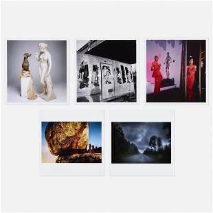 Various Artists, Five works from Magnum Photos