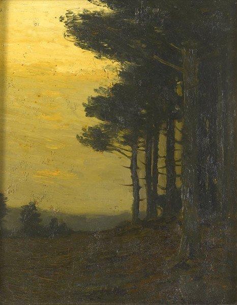 9: Charles Warren Eaton (American, 1857-1937) Untitle