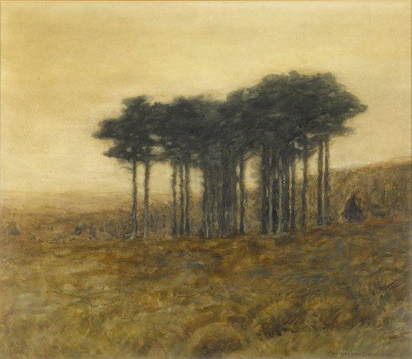 10: Charles Warren Eaton (American, 1857-1937) Untitle
