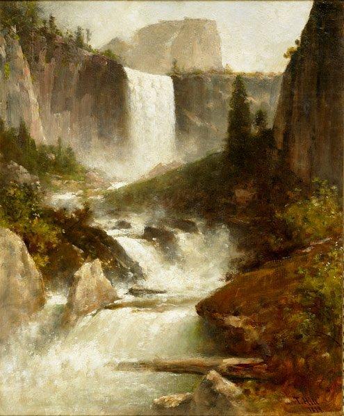 14: Thomas Hill (American, 1829-1908) Vernal Falls, Yo
