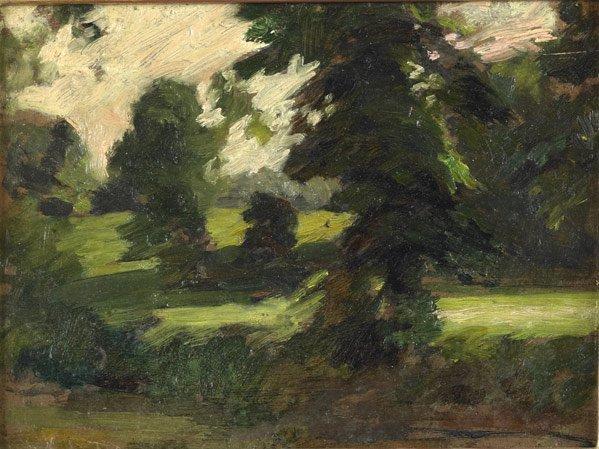 20: Thomas Pollack Anshutz (American, 1851-1912) Four