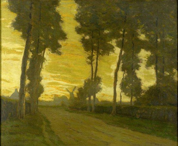 22: Charles Warren Eaton (American, 1857-1937) Flemish