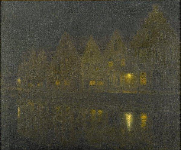 23: Charles Warren Eaton (American, 1857-1937) Canal B