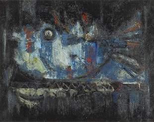 126: Antoni Clave (Spanish, 1913-2005) Fish Series Thea