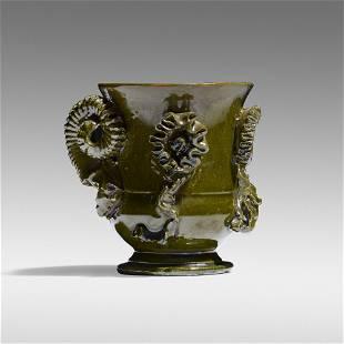 George E. Ohr, Snake vase