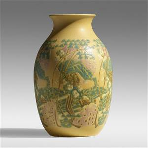 Overbeck Pottery, The Sower vase