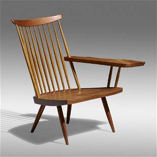 George Nakashima, Lounge Chair with Left Arm