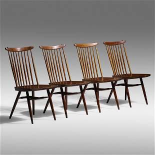 George Nakashima, New chairs, set of four