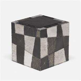 Paul Evans, Argente cube, model PE-37