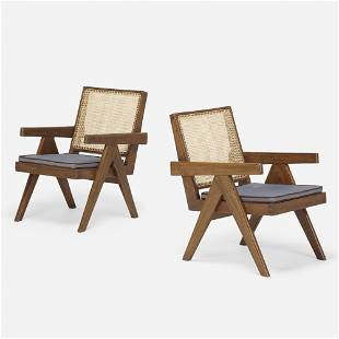 Pierre Jeanneret, Lounge chairs from the Punjab