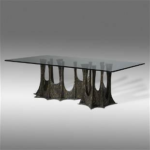 Paul Evans, Stalagmite dining table, model PE-102