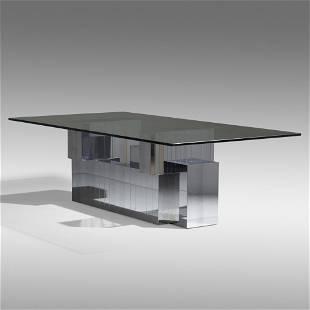 Paul Evans, Cityscape dining table, model PE 639