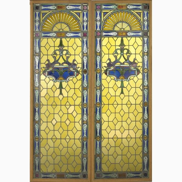 1: STAINED GLASS WINDOWS