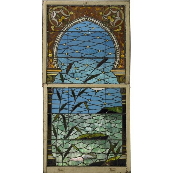 3: STAINED GLASS WINDOW