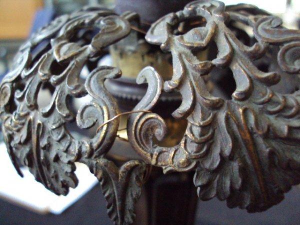 8: PAIR OF ARGAND LAMPS - 4