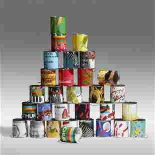 Wade Guyton & Kelley Walker, Thirty Paint Cans
