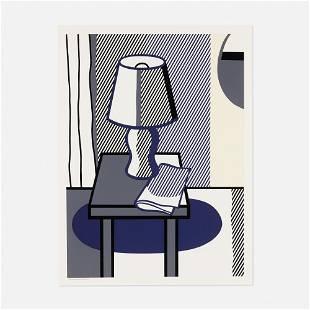 Roy Lichtenstein, Still Life with Table Lamp