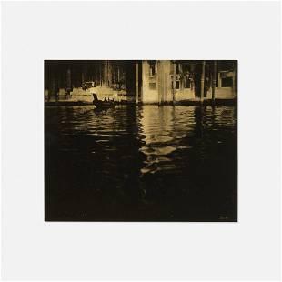 Edward Steichen, Late Afternoon, Venice