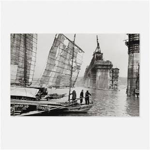 Marc Riboud, Yangzi Jiang, Wuhan, Chine, 1957