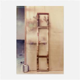 Leland Rice, Spraybooth with Painted Ladder