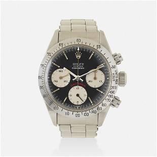 Rolex, Iconic 'Big Red Daytona Cosmograph' watch
