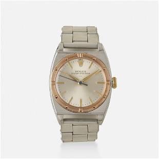 Rolex, 'Oyster Speedking' steel watch, Ref. 3359