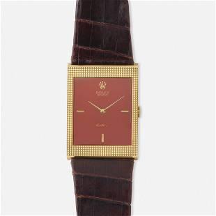 Rolex, 'Cellini' gold wristwatch, Ref. 4127