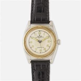 Rolex, 'Oyster Perpetual' steel and gold watch