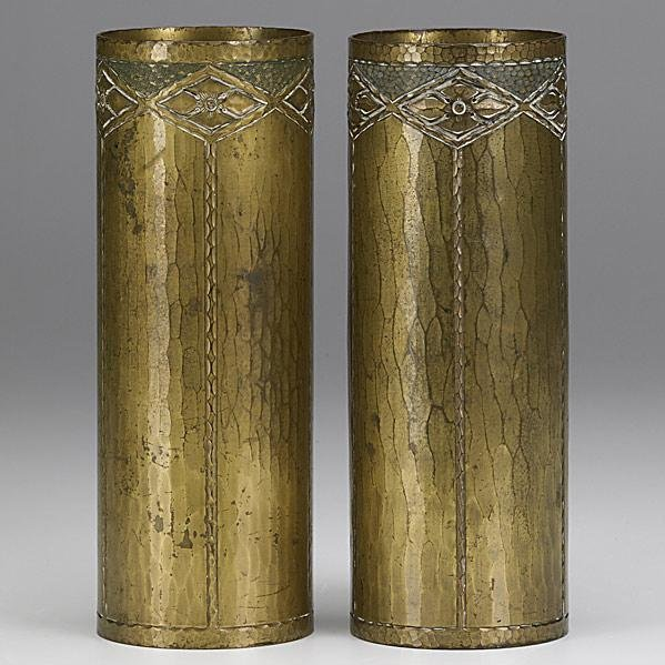 20: ROYCROFT; Pair of vases