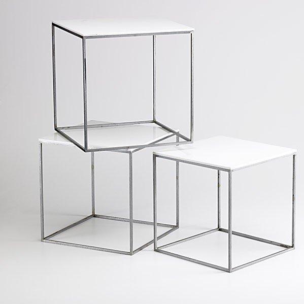 602: POUL KAJERHOLM; E. KOLD CHRISTENSEN; 3 tables