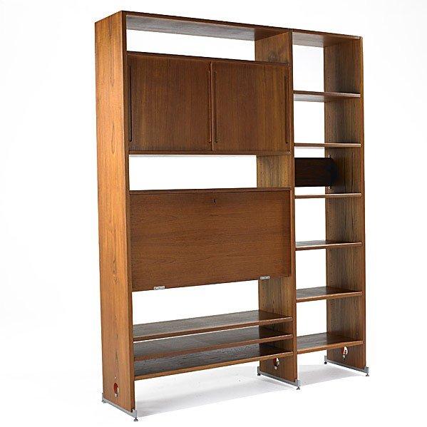 616: HANS WEGNER; A/S RY MOBLER; Teak storage unit