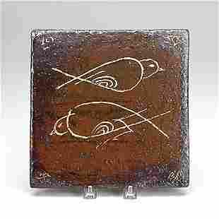786: BERNARD LEACH; ST. IVES STUDIO; Glazed tile
