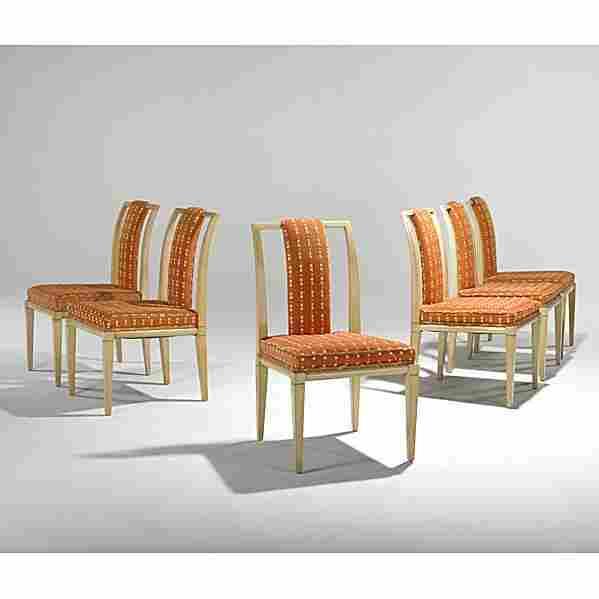798: PARZINGER; PARZINGER ORIGINALS; Six dining chairs
