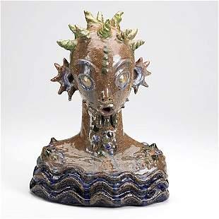 868: WAYLANDE GREGORY; Earthenware sea creature