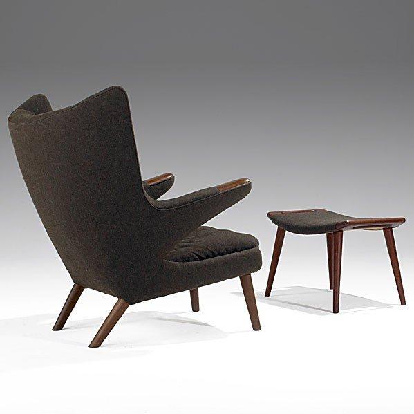 1005: HANS WEGNER; A.P. STOLEN; Papa bear chair