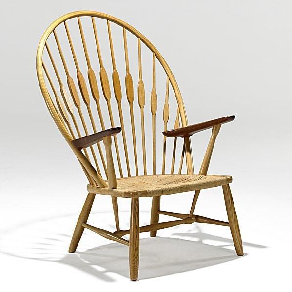 1011: HANS WEGNER; JOHANNES HANSEN; Peacock chair
