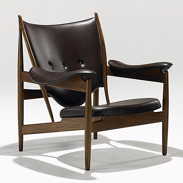 1013: FINN JUHL; BAKER; Chieftain lounge chair