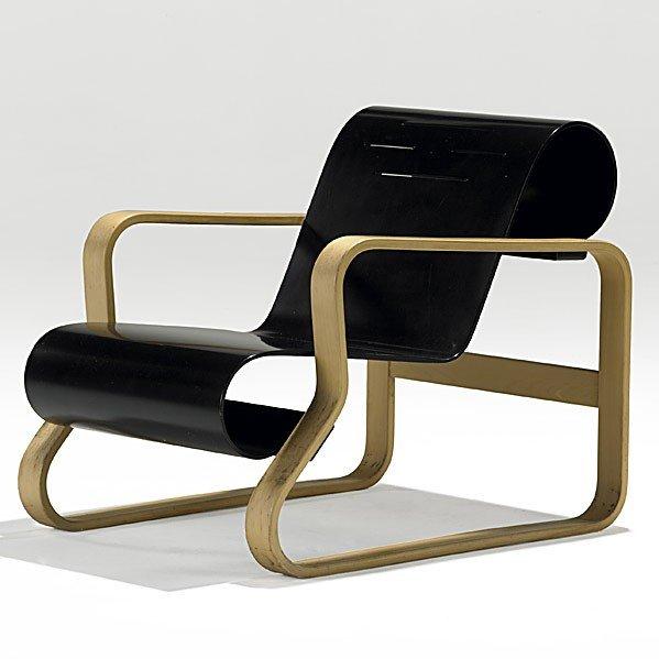 1020: ALVAR AALTO; ARTEK; Paimio chair