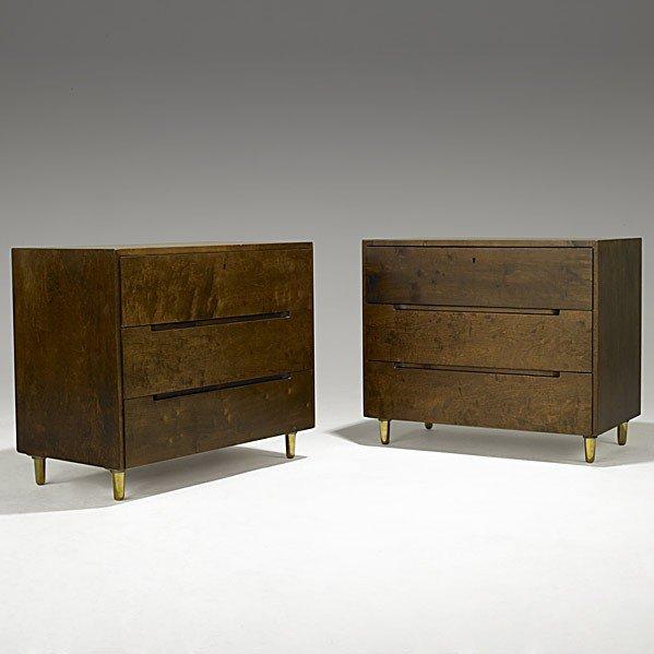 1021: ALVAR AALTO; ARTEK; Pair of dressers