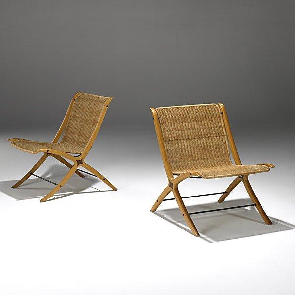 1026: PETER HVIDT, ETC; FRITZ HANSEN; Lounge chairs
