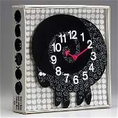 1330: GEORGE NELSON; HOWARD MILLER; Zoo-timer clock
