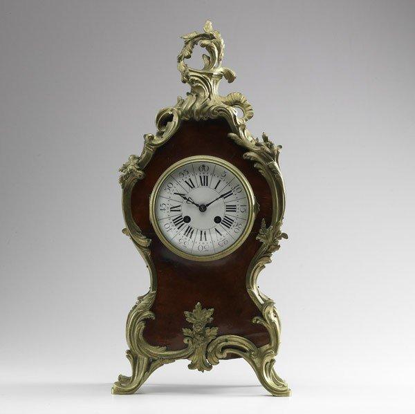 1: LOUIS XV MANTLE CLOCK